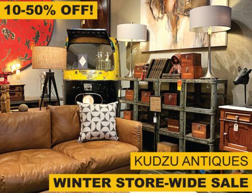 Winter Store-Wide Sale At Kudzu!