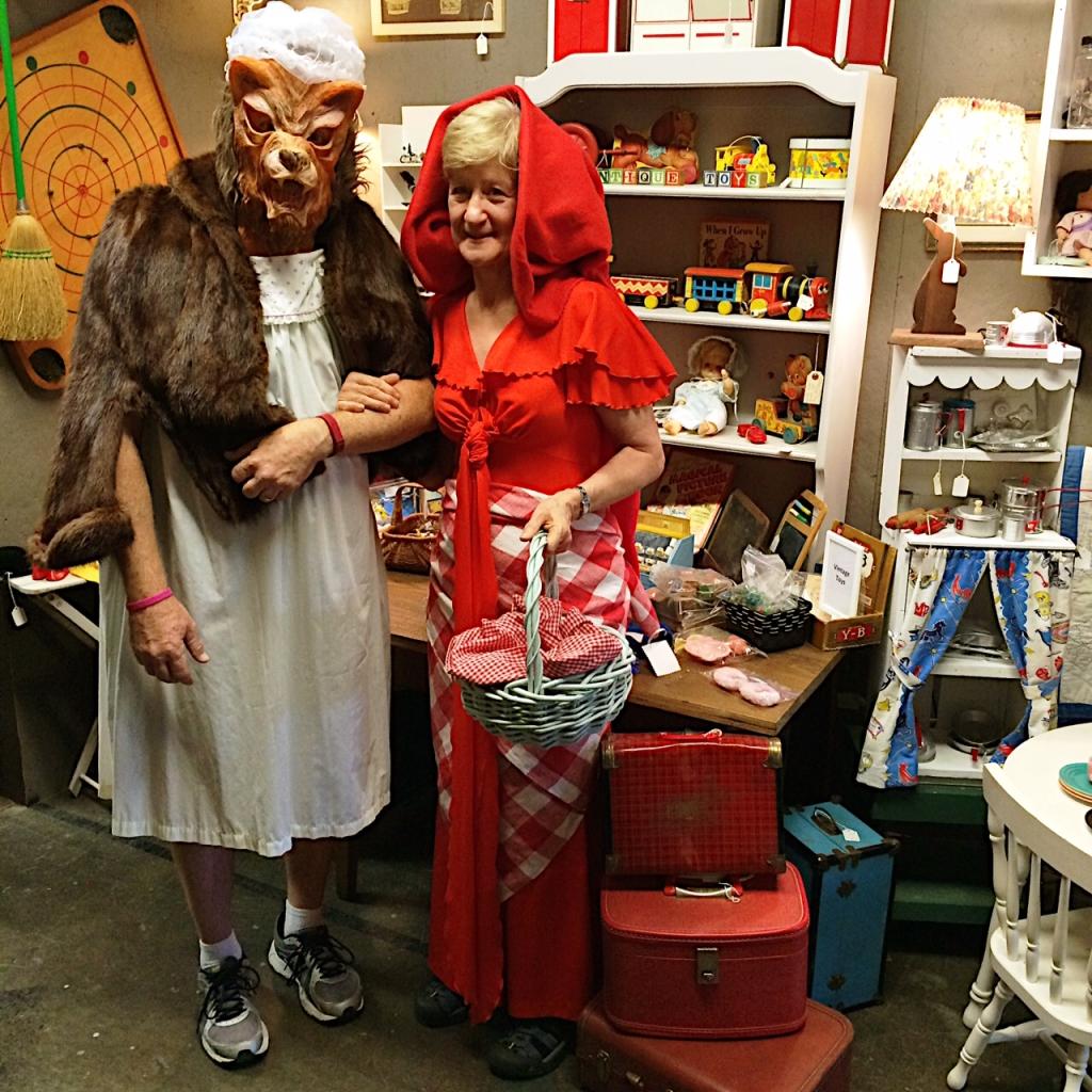 Li'l Red Riding Hood & Big Bad Wolf