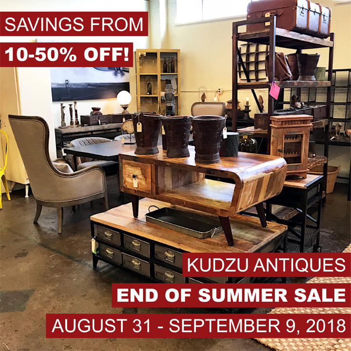 Kudzu's End Of Summer Store-Wide Sale