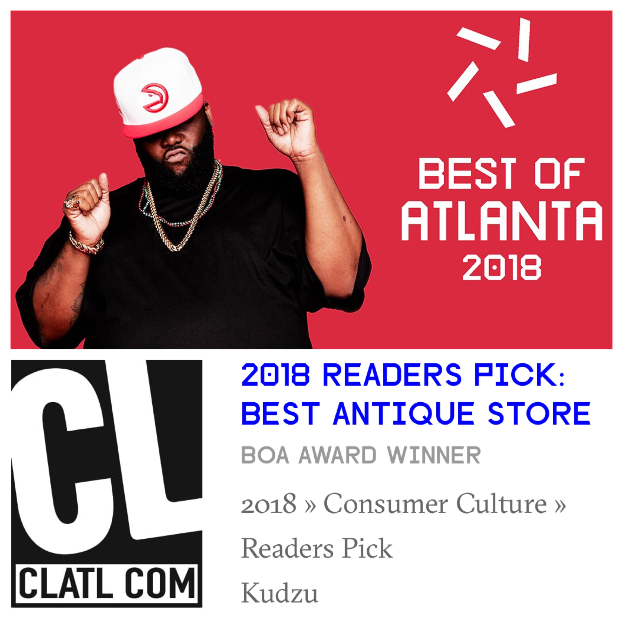 Kudzu Wins Best Of Atlanta!