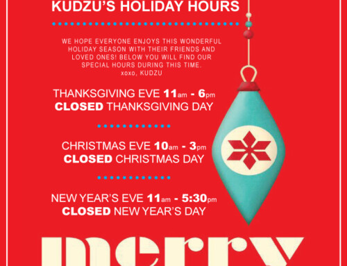 Kudzu's Holiday Hours