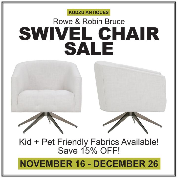 Rowe/Robin Bruce Swivel Chairs On Sale!